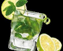 Алкогольный мохито в домашних условиях