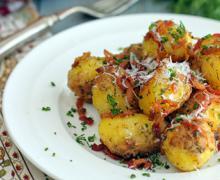 картофель пармезан