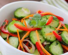 Легкий хрустящий салат