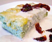 Суфле из куриной грудки и брокколи