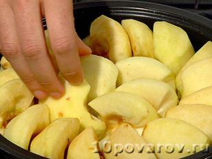 яблочный пирог татен