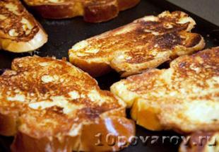 французские тосты рецепты с фото