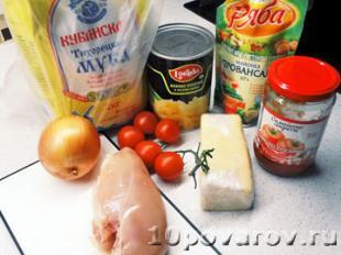 гавайская пицца рецепт