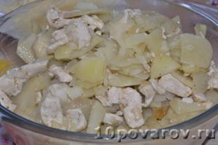 рецепт картофельной запеканки с курицей