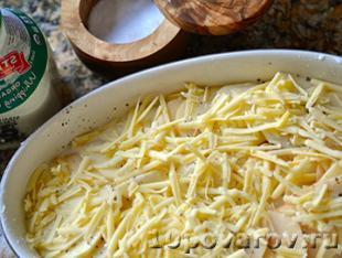 картофельный гратен фото