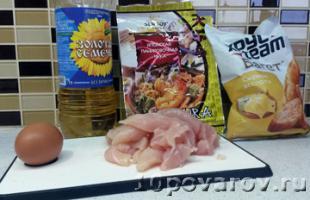 курица темпура рецепт