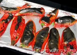красный перец в духовке