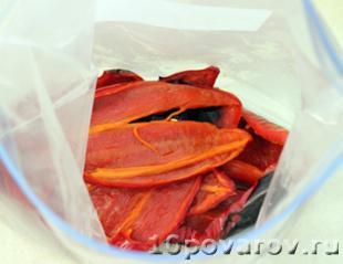 перец красный запеченный в духовке