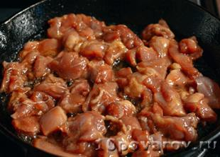 как приготовить курицу в соусе терияки