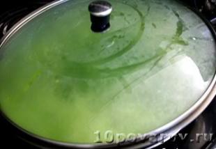 зеленый рис рецепт