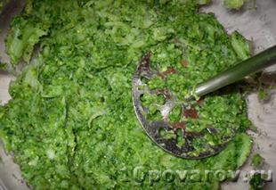 оладья из капусты брокколи