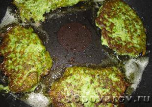 оладушки из брокколи рецепт с фото