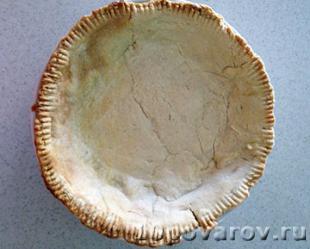 открытый клубничный пирог рецепт
