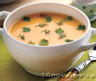 овощной суп пюре в мультиварке