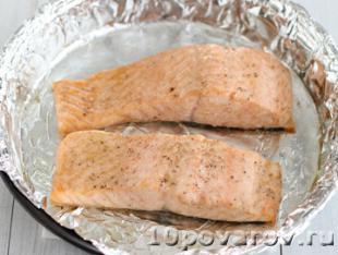 паста с лососем рецепт с фото
