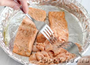 паста с лососем как приготовить
