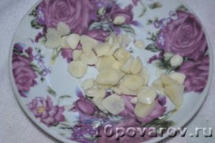 закуска из кабачков с чесноком