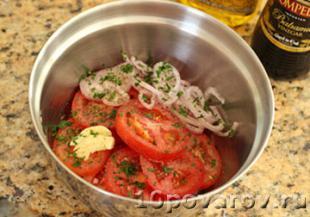 рецепт салата с авокадо и помидорами