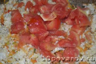 рагу с курицей и рисом рецепт