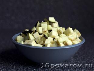 баклажаны на тостах