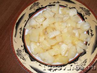 салат ананас курица сыр сухарики