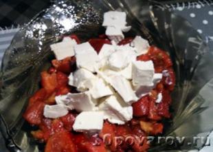 рецепт салата с острым перцем