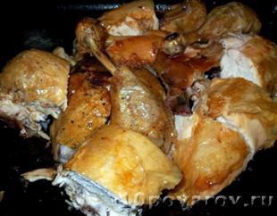 сациви из курицы по грузински пошаговый рецепт