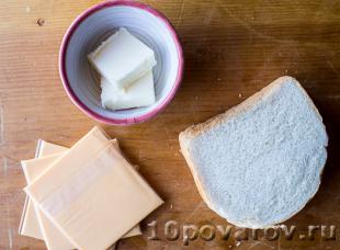 как приготовить сэндвич с сыром