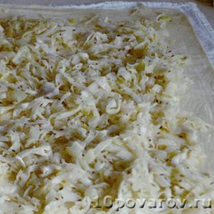 приготовить штрудели капустой