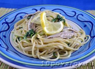Спагетти с анчоусами рецепт