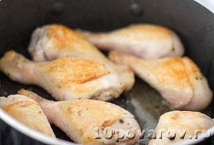 куриные голени в медово соевом соусе