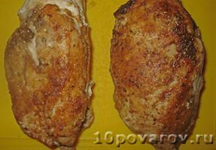 тарталетки с курицей и ананасом рецепт с фото