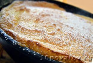 омлет на десерт