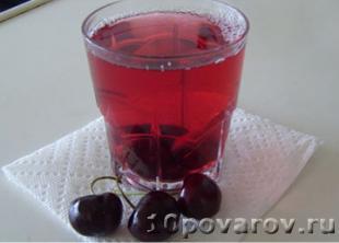 вишневый компот рецепт
