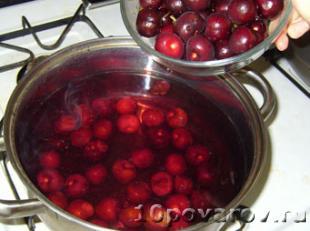 вишневый компот фото