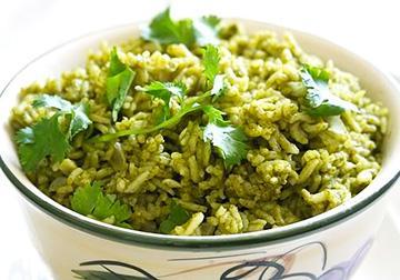 Мексиканский зеленый рис