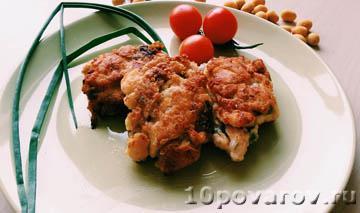 рубленные котлеты из куриной грудки рецепт