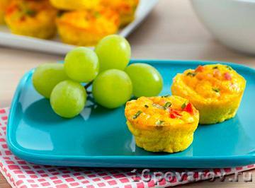 Яичные маффины к завтраку