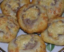рецепт булочек с мясом