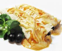 Мексиканский буррито с фаршем и фасолью