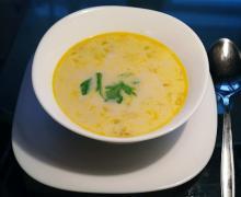 Суп из консервированной горбуши в мультиварке