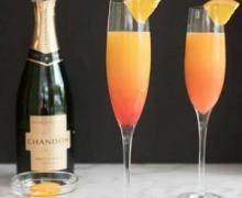 Коктейль мимоза с шампанским