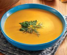 Суп пюре из тыквы, картофеля и моркови в мультиварке