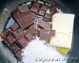шоколадный крем мусс рецепт
