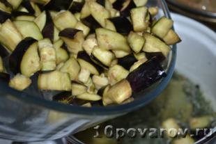 баклажаны маринованные с чесноком и зеленью быстрые