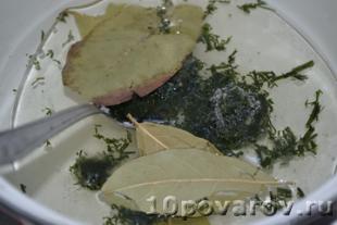 баклажаны маринованные с зеленью