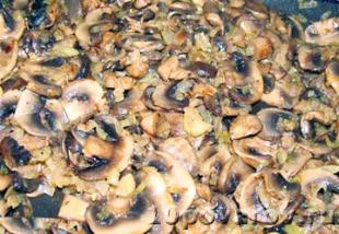 начинка для блинов с грибами