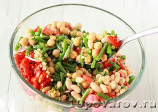 салат с бобовой фасолью