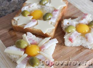 бутерброды с перепелиными яйцами рецепты