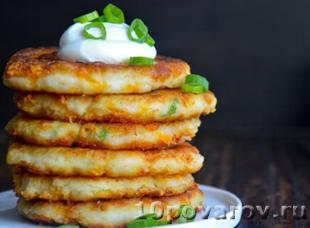 оладьи из картофельного пюре рецепт